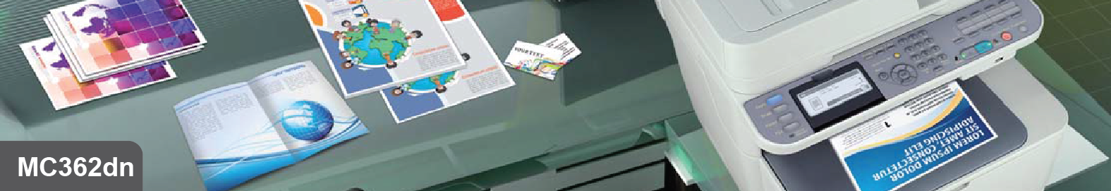 Máy in đa năng OKI MC362dn, tương đương máy Photocopy màu cao cấp.