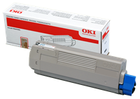 Mực đen OKI Black Toner Cartridge C610